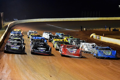 4-Wide Parade Lap