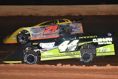 44 Chris Madden and 21JR Billy Moyer, Jr.