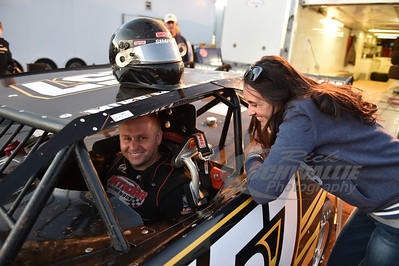 Mike Marlar gets encouragement from his wife Stacy