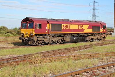 66015 arrives into Margam Knuckle Yard   13/06/14
