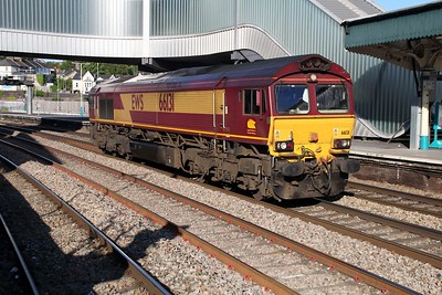 66131 0721/0B49 ADJ-Llanwern passes Newport   13/06/14