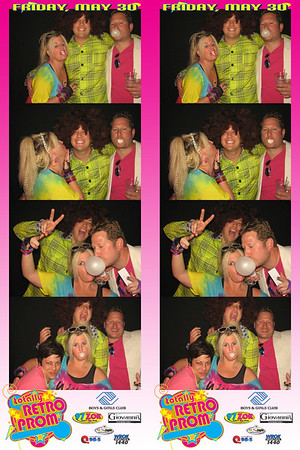 Boys and Girls Club Totally Retro Prom May 30, 2014