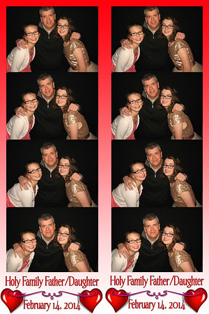 Holy Family Father/Daughter Dance February 14, 2014