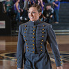 Cadet Stephanie Shubert sung the National Anthem prior to the Army Black Knight's defeating the Holy Cross Crusaders 68-58 in the Patriot League Championship game at the United States Military Academy's Christl Arena in West Point, NY on Saturday, March 15, 2014. Hudson Valley Press/CHUCK STEWART, JR.