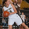 Army Forward Danielle Failor (35) grabs a rebound as the Black Knight's defeated the Lehigh Mountain Hawks 74-63 at the United States Military Academy's Christl Arena in West Point, NY on Wednesday, January 8, 2014. Hudson Valley Press/CHUCK STEWART, JR.