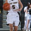 Army Guard Kelsey Minato (5) posted 17 points. The Black Knight's defeated the Lehigh Mountain Hawks 74-63 at the United States Military Academy's Christl Arena in West Point, NY on Wednesday, January 8, 2014. Hudson Valley Press/CHUCK STEWART, JR.