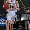 Army Guard Shelby Lindsay (14) handles the ball as the Black Knight's defeated the Navy Midshipmen 54-48 at the United States Military Academy's Christl Arena in West Point, NY on Saturday, February 8, 2014. Hudson Valley Press/CHUCK STEWART, JR.