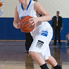 Mount Saint Mary Guard Nicole Scicutella (55) drives to the basket against the Old Westbury Panthers, in their Skyline Conference game Sunday, February 23, 2014 at the Kaplan Center in Newburgh, NY. The Panthers defeated the Mount 73-69. Hudson Valley Press/CHUCK STEWART, JR.