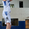 Mount Saint Mary Forward Rachel Perrone (12) finished her career with a bang, scoring 25 points and pulling down 14 rebounds, 2 blocked shots and 3 steals. It wasn't enough as the Knights fell to the Old Westbury Panthers, 73-69, in their Skyline Conference game Sunday, February 23, 2014 at the Kaplan Center in Newburgh, NY. Hudson Valley Press/CHUCK STEWART, JR.