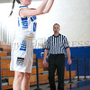 Mount Saint Mary College Guard Lauren Romao (10) scored 12 points as the women's basketball team defeated the St. Joseph's Golden Eagles, 70-54, winning their first Skyline Conference game of the season on Saturday, January 18, 2014 at the Kaplan Center in Newburgh, NY. Hudson Valley Press/CHUCK STEWART, JR.