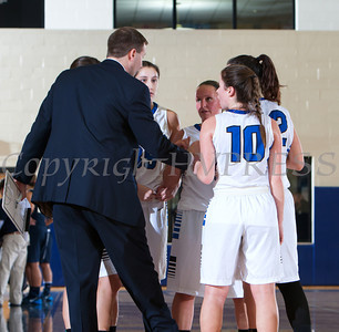 The Mount Saint Mary College women's basketball team defeated the St. Joseph's Golden Eagles, 70-54, winning their first Skyline Conference game of the season on Saturday, January 18, 2014 at the Kaplan Center in Newburgh, NY. Hudson Valley Press/CHUCK STEWART, JR.