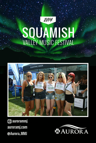 Squamish Valley Festival - Aurora - Roaming Photographer