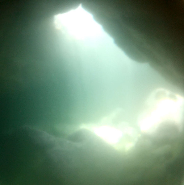 Next it was through the secret underwater way to the famous Castle formation - the secret Kittitian ironing mecca.