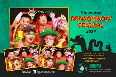 Steveston Dragon Boat Festival 2014 with  BCUOMA
