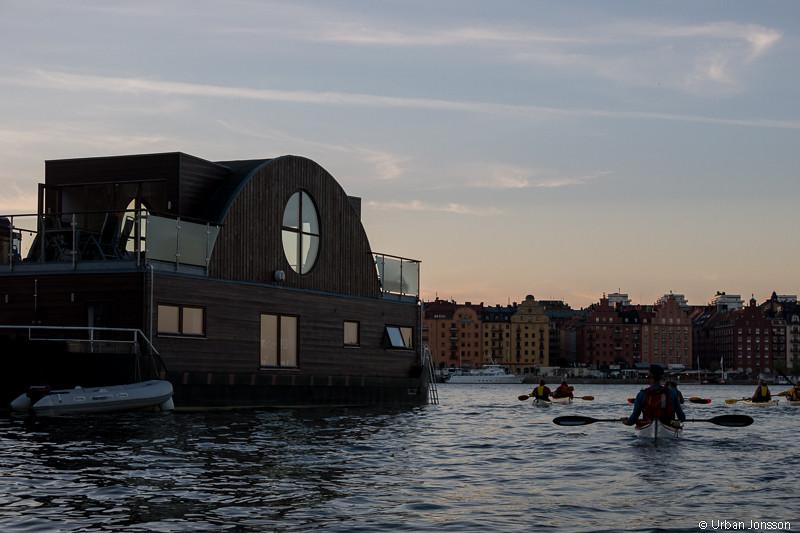 Kan det vara en arkitekt som gått lös på husbåten?