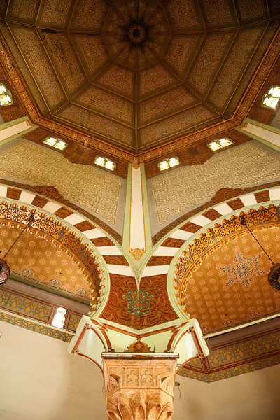 The interior architecture of this mosque was very cool, even though the slightly run-down bits and pieces and the broken windows indicated that the place is not super well taken-care-of.