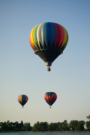 Colorado Springs Hot Air Balloon Festival 2014