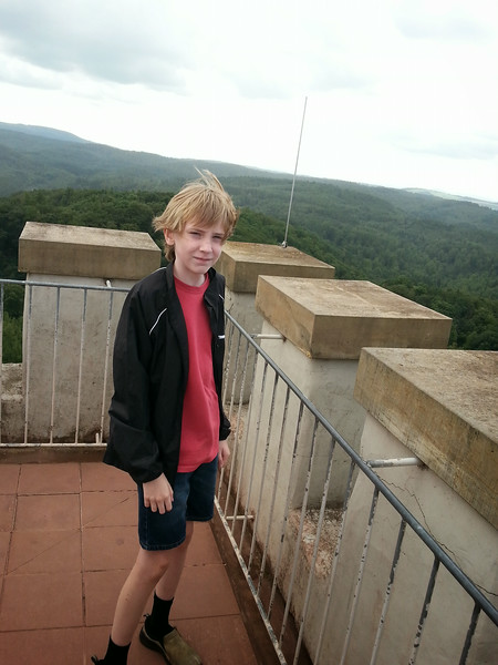 me on top of a tower