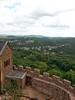 another german landscape with part of a castle. bonus!