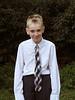 Daniel first day of seventh grade