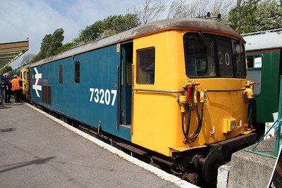 73207 seen at Swanage Station.