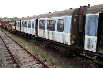 DMU 51432_51498 at Harmans Cross sidings.