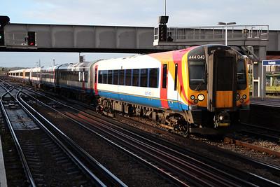444043 passes through Eastleigh.