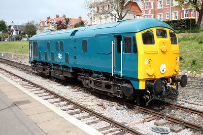 Class 24 5081 at Swanage station.