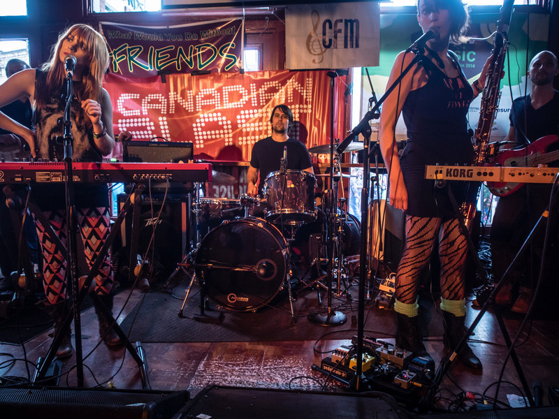Sidney York at Canadian Blast at SXSW 2014