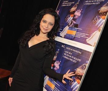 2014-09-16 Tiskova konference Deti v divadle  - Lucie Bila