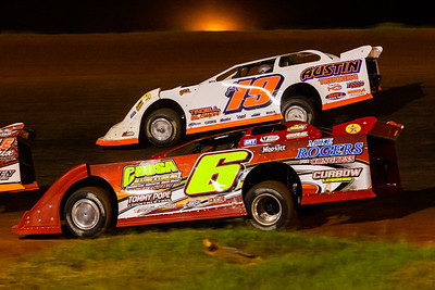 Tim Roszell (6t) and Ronnie Johnson (A19)