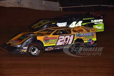 201 Billy ogle Jr. and 44 Chris Madden