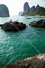 The waterline off Phra Nang Beach sees another day of action, walks, falls, and so much blood!