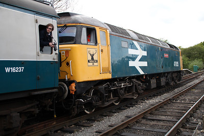 47635 'Jimmy Milne' arrives from Ongar on the 2c11 service.