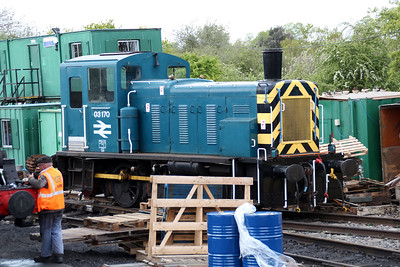 03170 in the depot yard.
