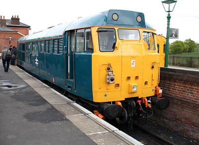 31438 in the bay platform between duties.