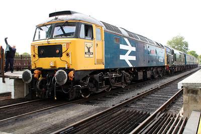47635 'Jimmy Milne' & D6729 (37029) D/H 1400/2C10 North Weald-Ongar.