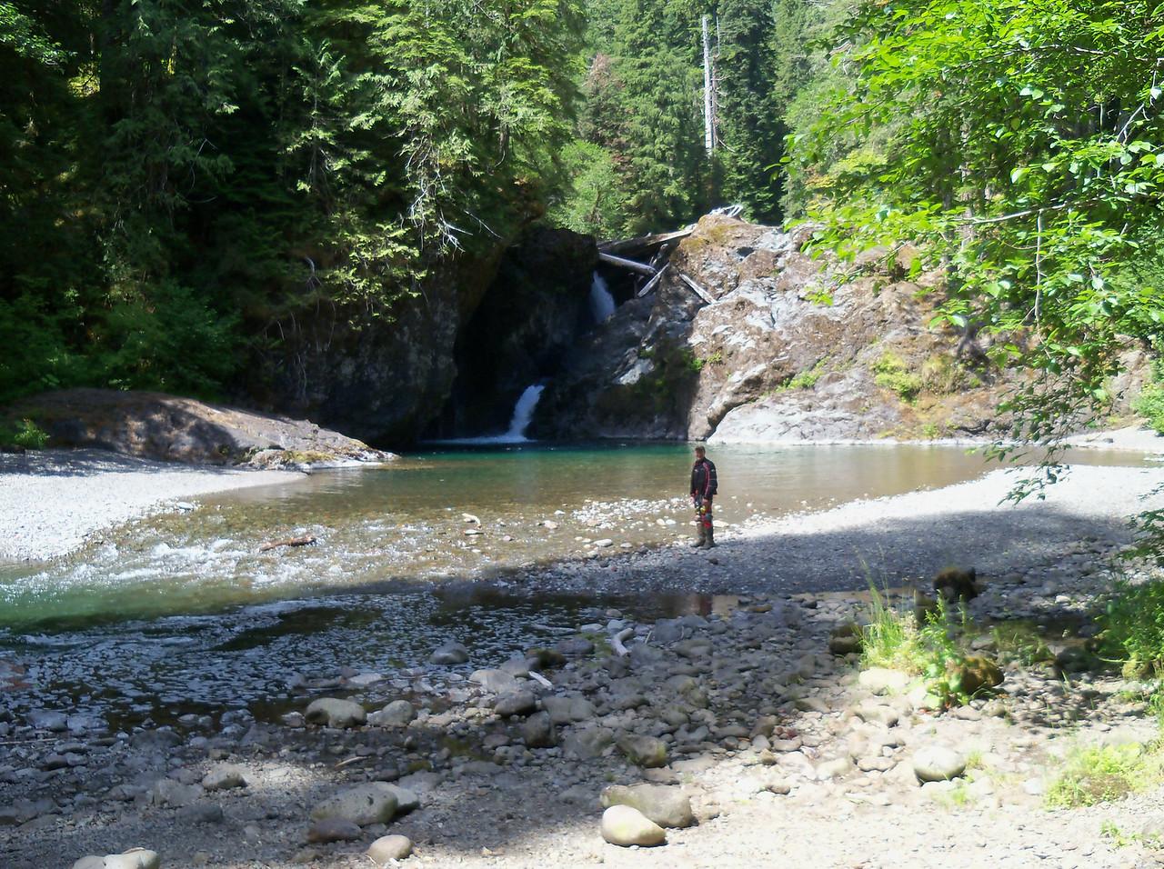 Wynoochee Falls