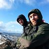 Arnór og Kristinn á toppi Grænudyngju