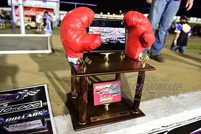 """Tri-City Speedway """"Battle @ the Beach 50"""" Trophy"""