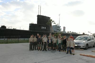 2014 Sleepover on USS Cavalla