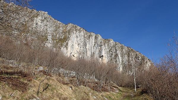 Climbing walls Monte Armetta