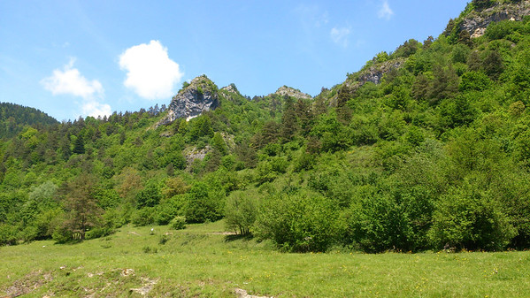 Possible picnic spot in the Val Tanarello