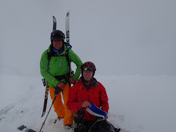 Ski Touring with Iain Morton at Val Thorens
