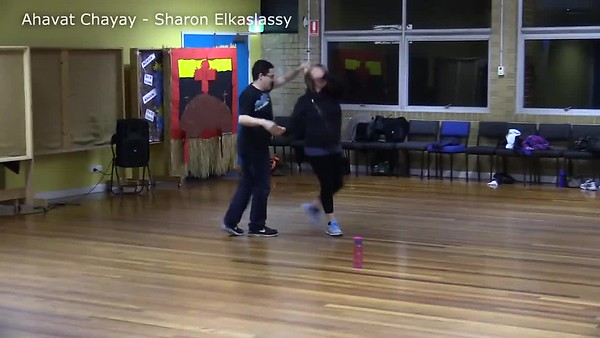 Ahavat Chayay - Sharon ElkaslassyBeautiful partner dance taught on Sunday 27th July 2014. Danced by Sharon with his wife Laura to whom the dance is dedicated.