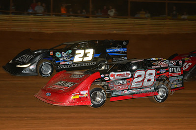 28 Eddie Carrier, Jr. and 23 John Blankenship