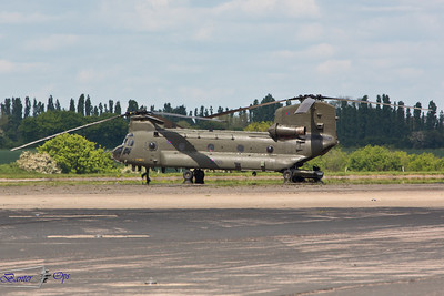 Boeing CH47 Chinook HC.2 ZA714 Royal Air Force 18 / 27 Sqn, RAF Odiham