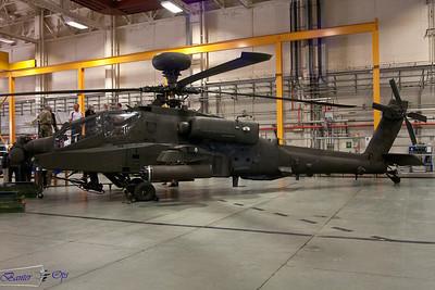 Westland AH64D Apache Longbow AH.1 ZJ199 Army Air Corps
