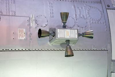 Apollo service module thrusters