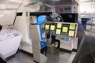 Shuttle cockpit interior mockup